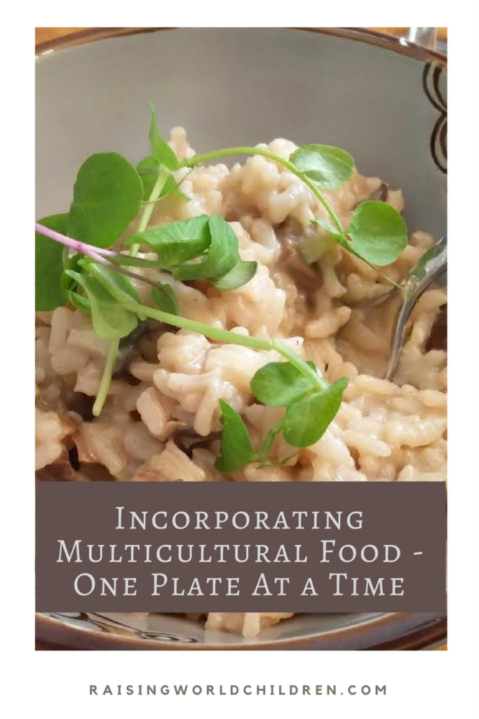 Incorporating Multicultural Food - One Plate At A time  www.raisingworldchildren.com #multiculturalfood #cultures #food #family #pickyeaters