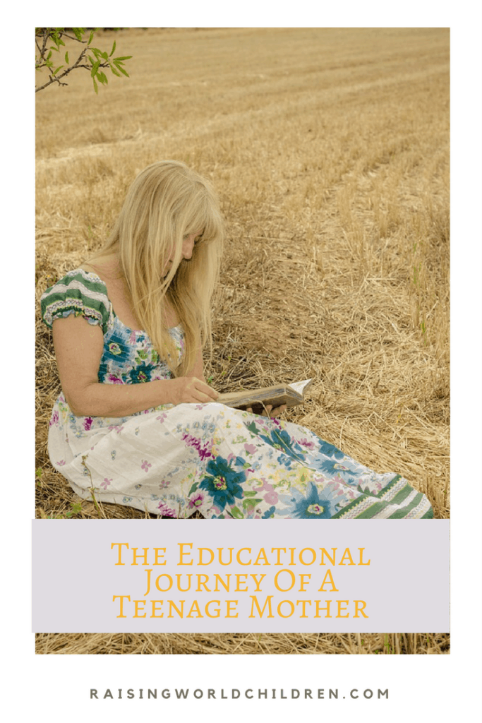 The Journey of a Teenage Mother Empowered By Education www.raisingworldchildren.com #parenting #teenagers #pregnancy #education #emowered #women