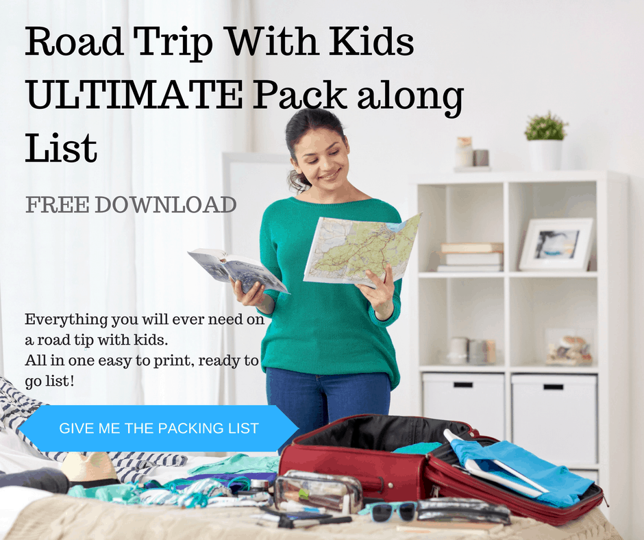 Road Trip With Kids Ultimate Pack Along List