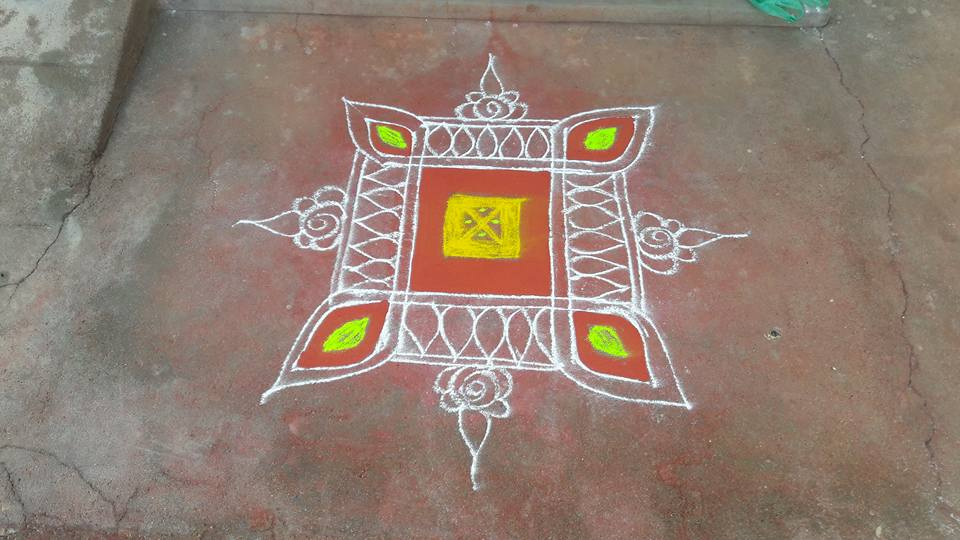 Kolam or Rangoli