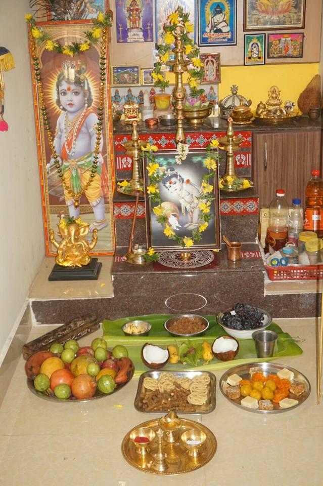Sri Krishna Jeyanthi - Offerings To Lord Sri Krishna - Raising World Children