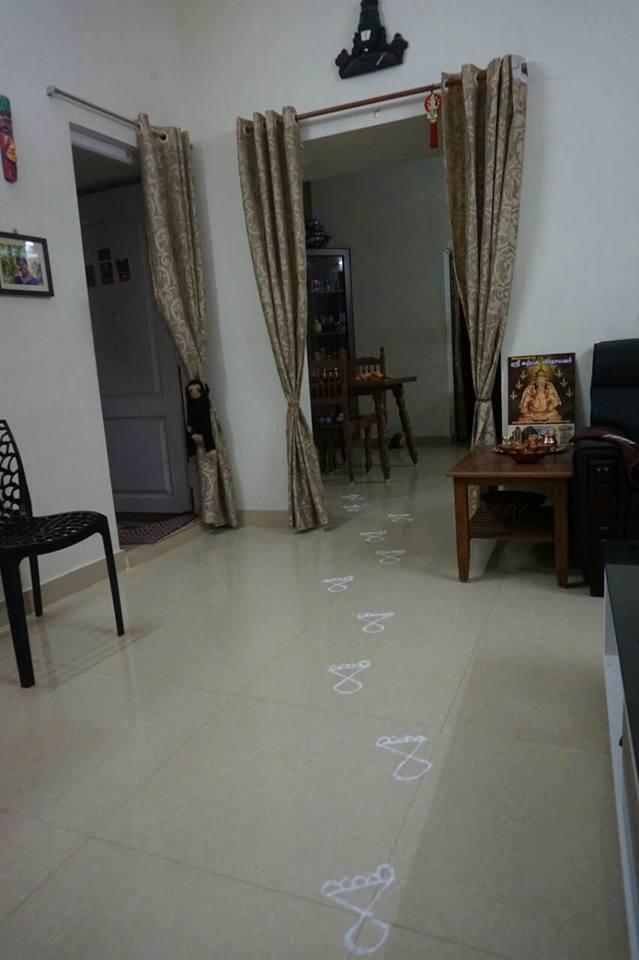 Krishna's Footprints