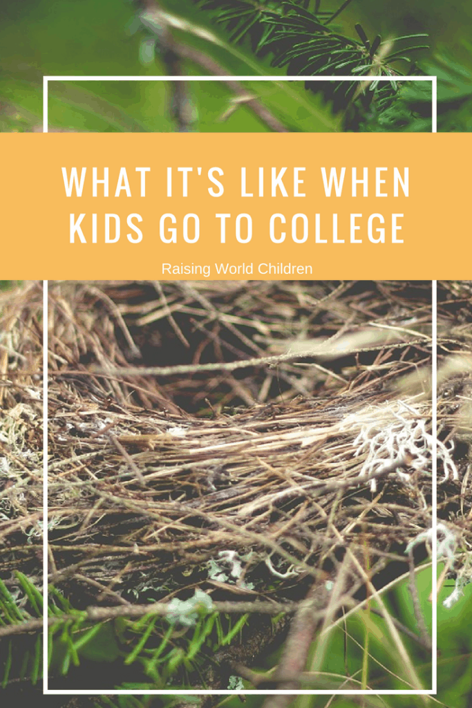 What it's like when kids go to college | Raising World Children | Parenting | family | Empty Nest