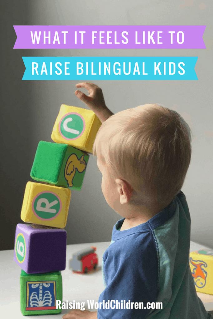 What it feels like raising bilingual kids | how to Raise bilingual kids | tips to raising kids with two languages - bilingual | parenting | family goals