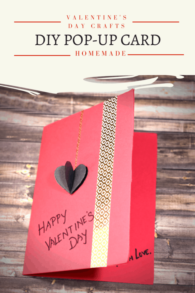 DIY Pop-up Card for Valentine's Day | How To Make An Easy Valentines Card for Kids | Raising World Children | Passionate Moms