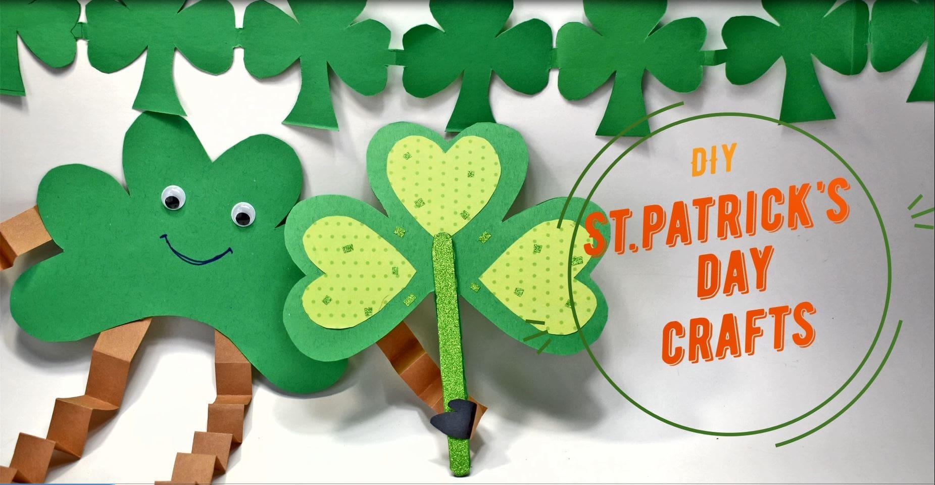Shamrock crafts for ST.Patrick's Day
