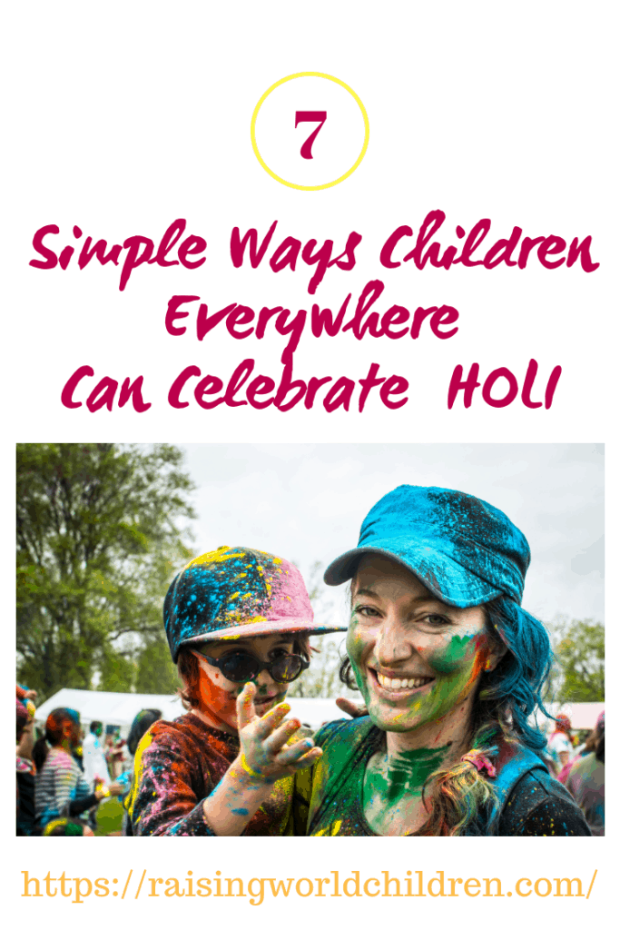 If you are wondering how to celebrate Holi, here is a guide for really simple ways children eveywhere can celebrate Holi