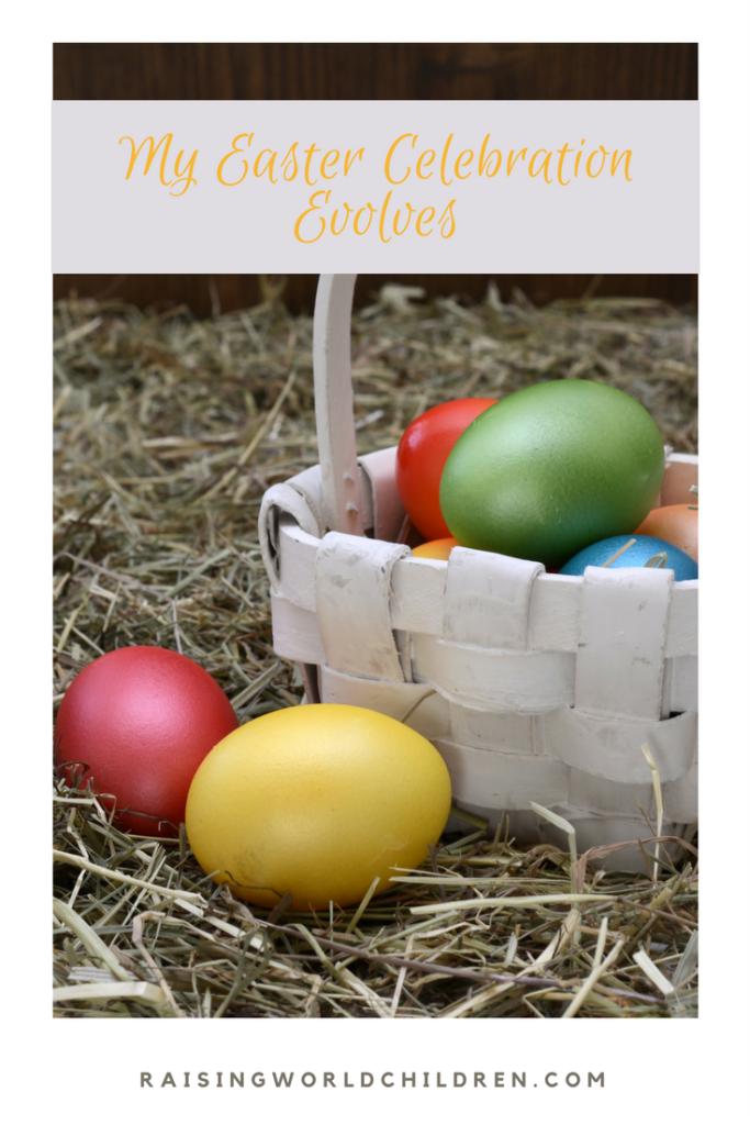 Easter Celebrations of Senior Citizen in The Digital Age www.raisingworldchilldren.com #easter #grandparents #grandchildren