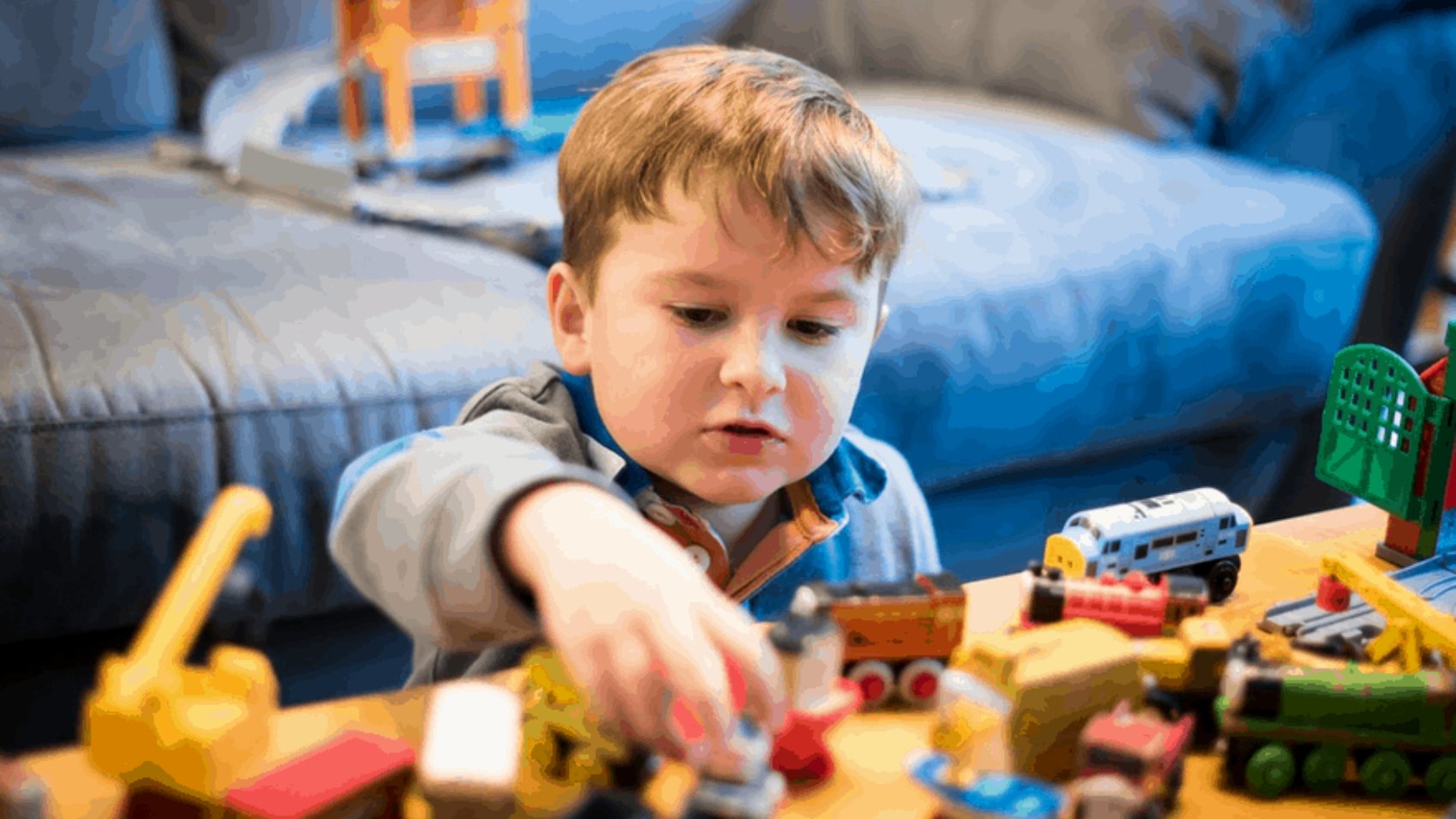 Unstructured Play :  Let Kids Unwind Organically