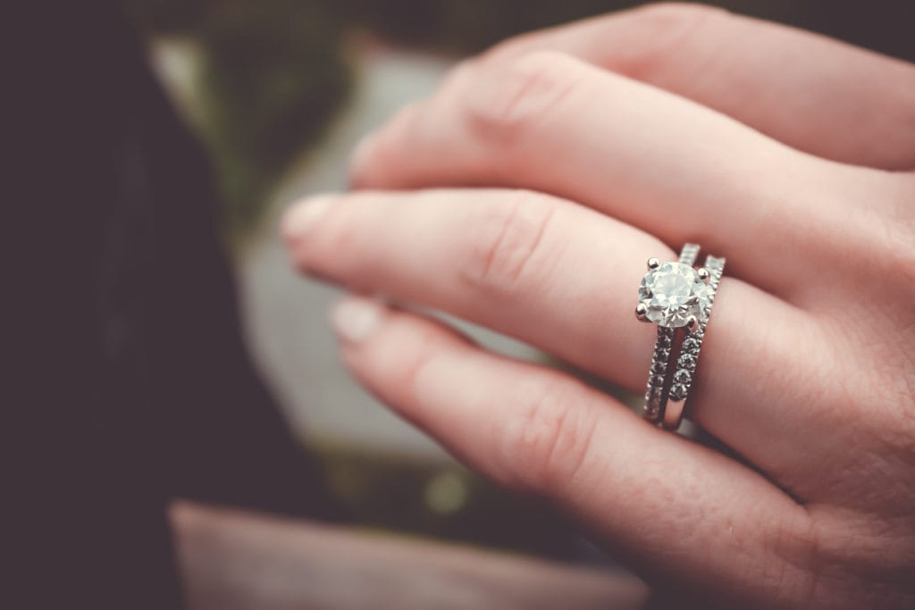 Raising World Children Engagement ring
