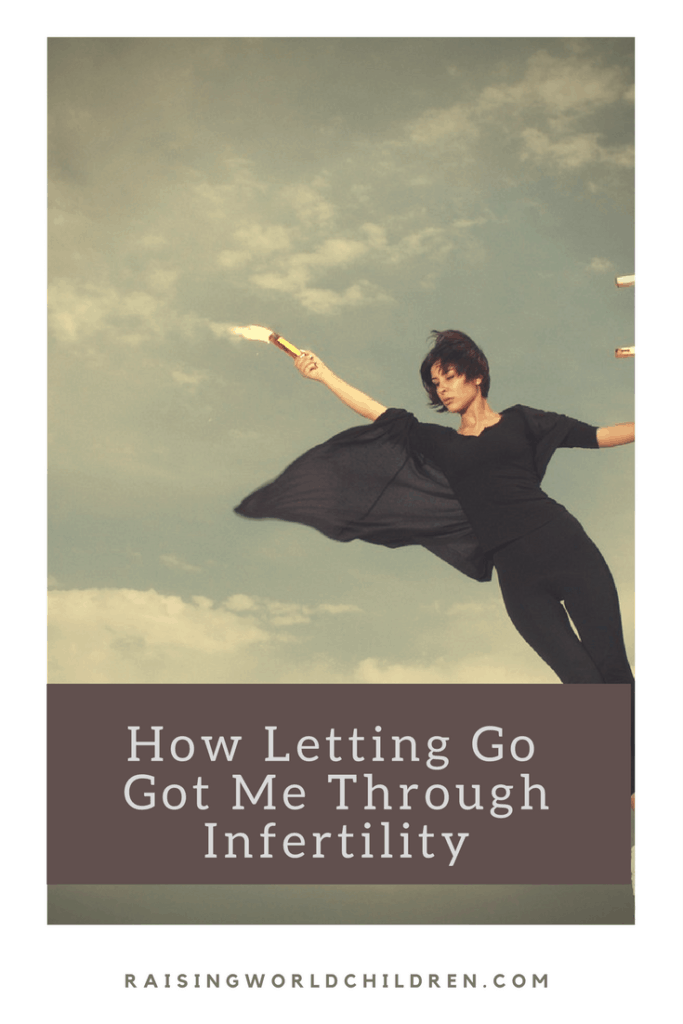 How Letting Go Got Me Through Infertility | Pregnancy | Infertility | Motherhood | Hope
