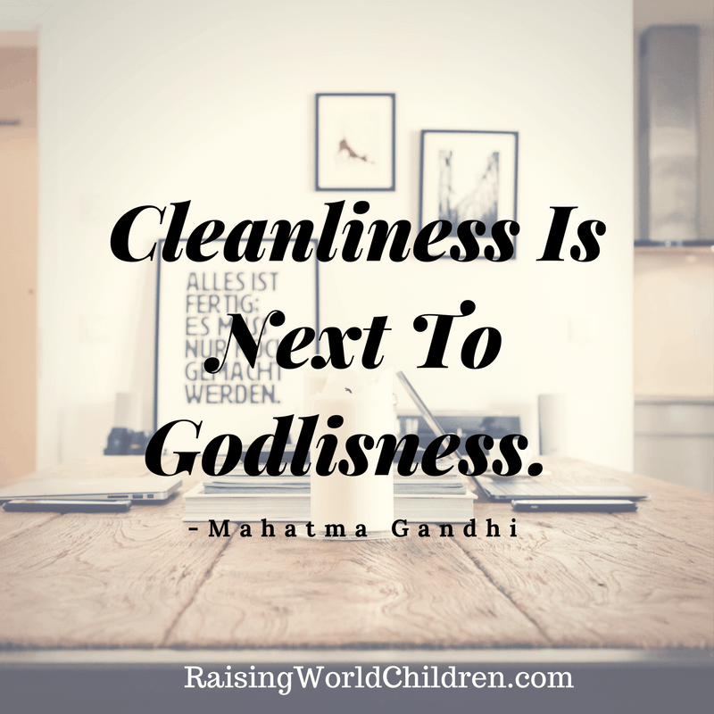 Raising World Children Gandhi Quote 4