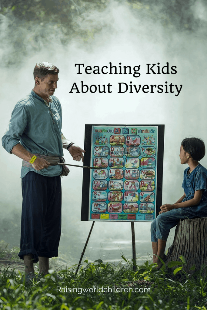 How To Teach Kids About Diversity | Raising World Children | Learning | Children | Peace
