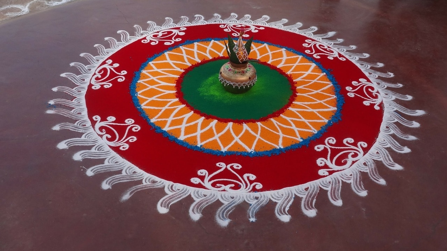 Celebrating Different Colors of Rangoli This Diwali