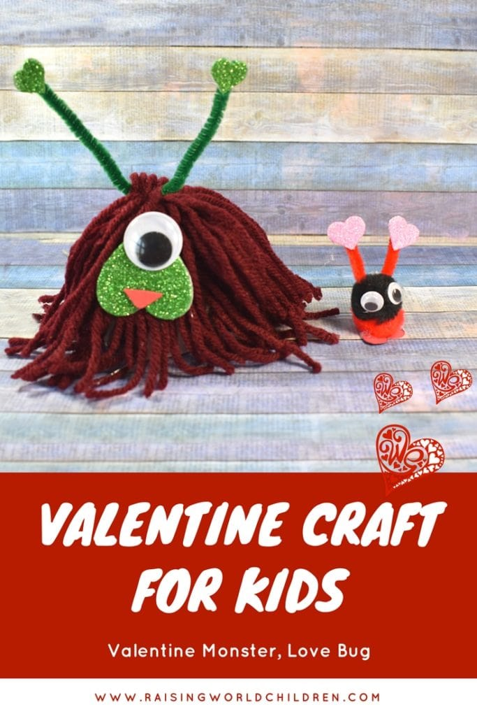 DIY kids craft for valentines day | Valentines craft for kids easy