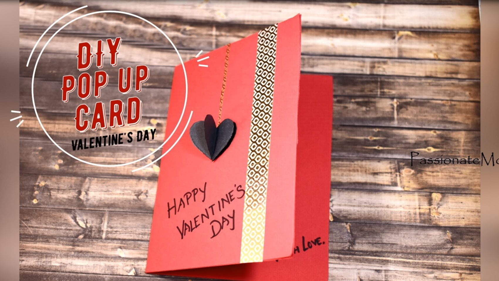How To Make A DIY Pop-up Valentines Day Card