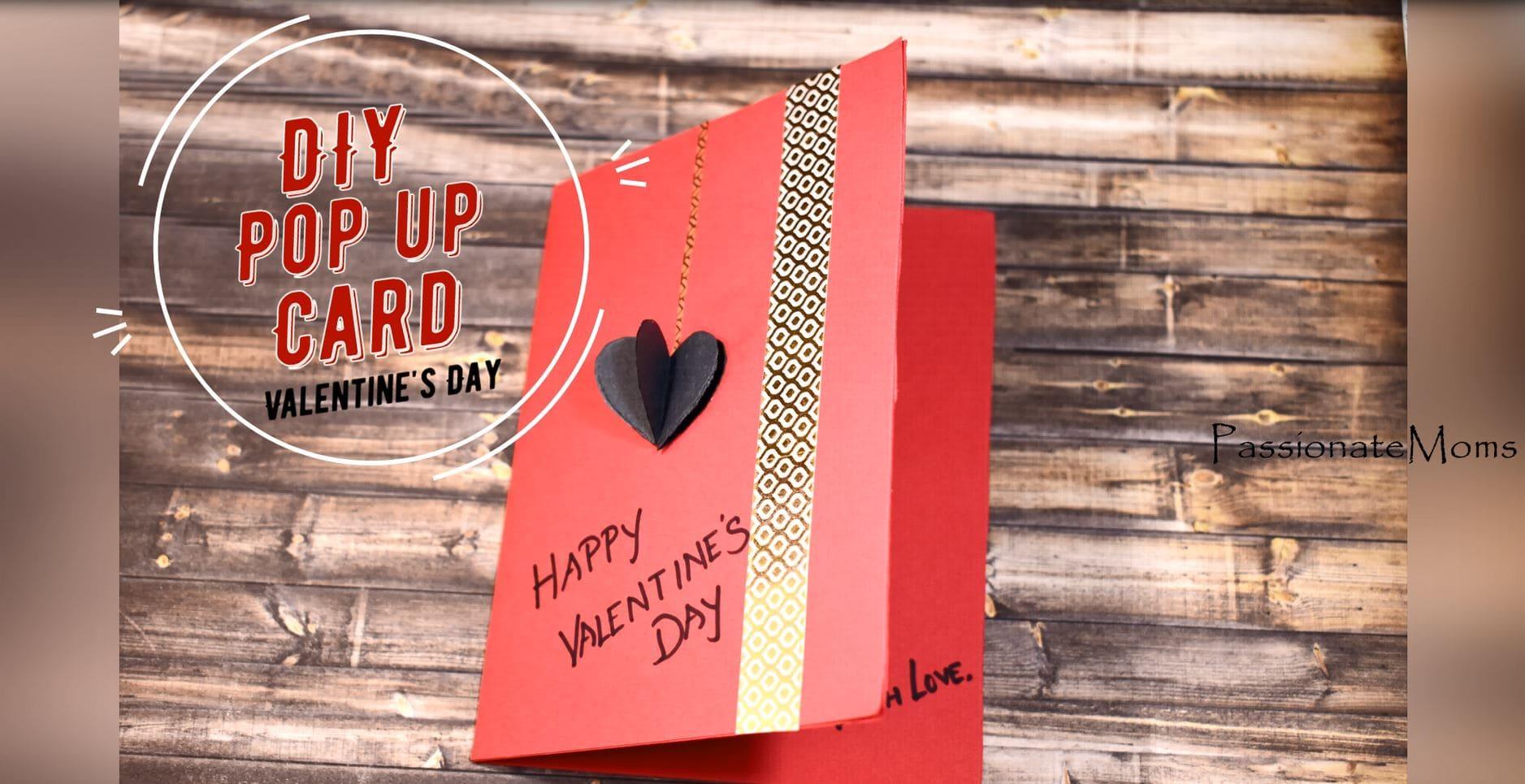 How To Make A Diy Pop Up Valentines Day Card Raising World Children