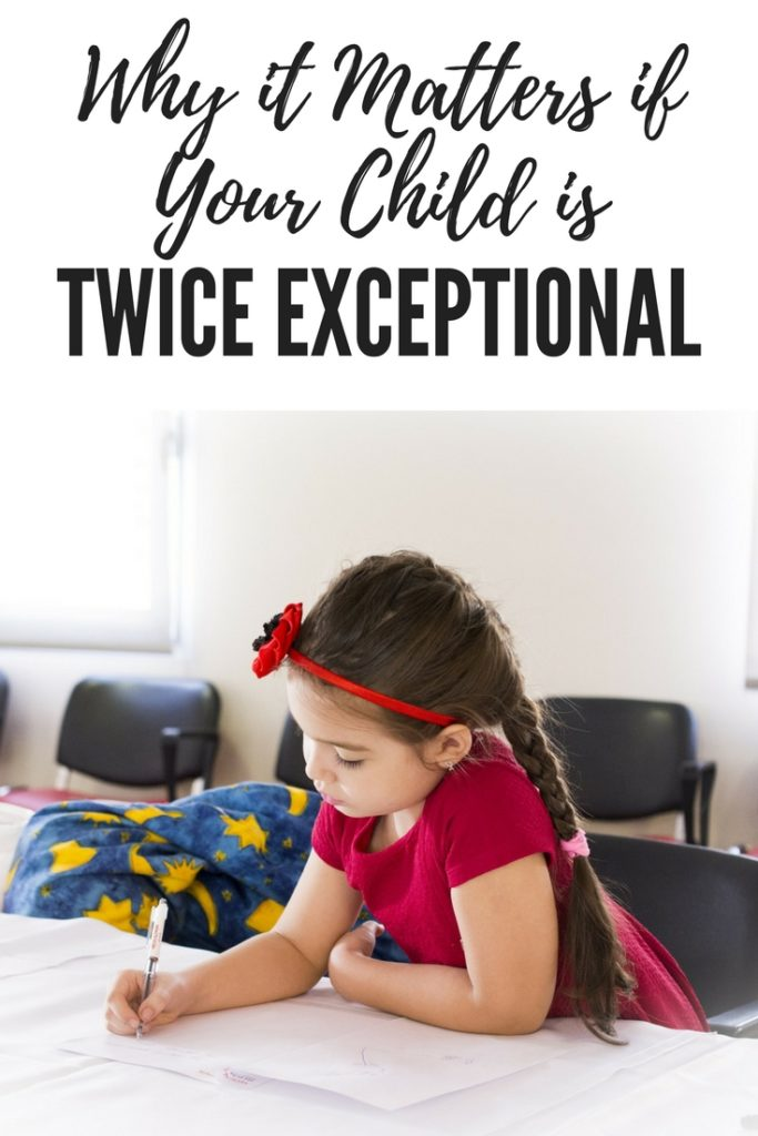 Why it Matters if Your Child is Twice Exceptional Pinterest Image