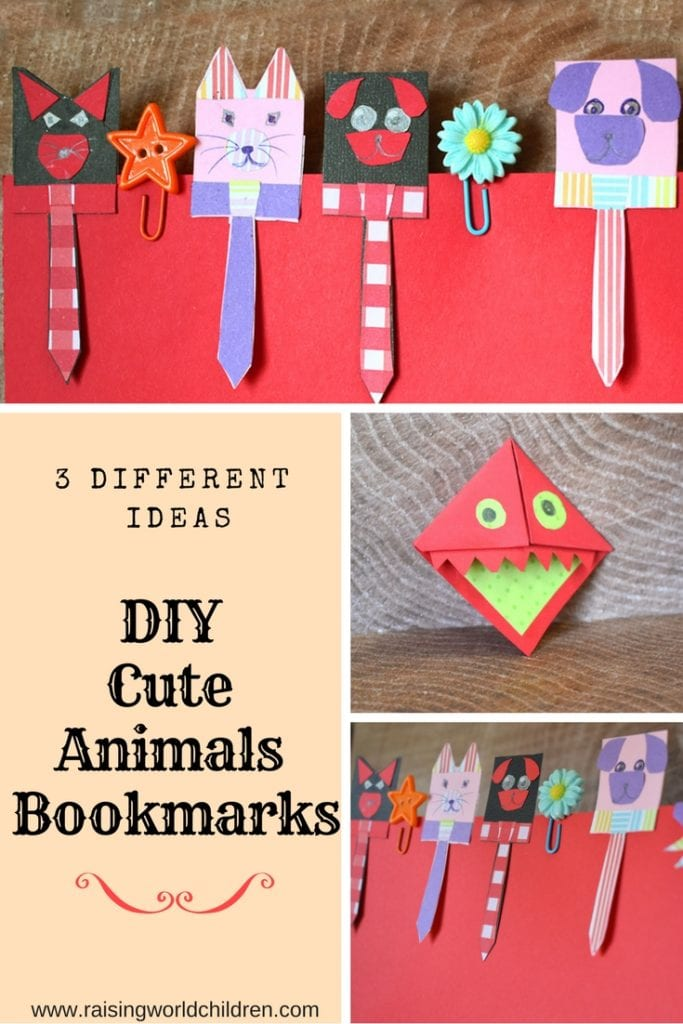 DIY seuss Bookmarks for kids crafts | Make these book marks with kids | Great easy craft for little ones