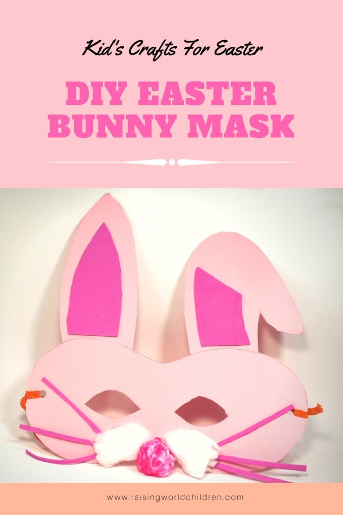 Easter craft - Bunny Mask | How to make a Easter Bunny Mask this Spring Season | Craft For Spring