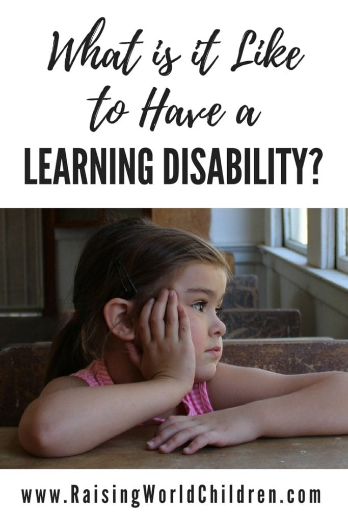 What is it like to have a learning disability ? Read Bonnie Landau's perspective