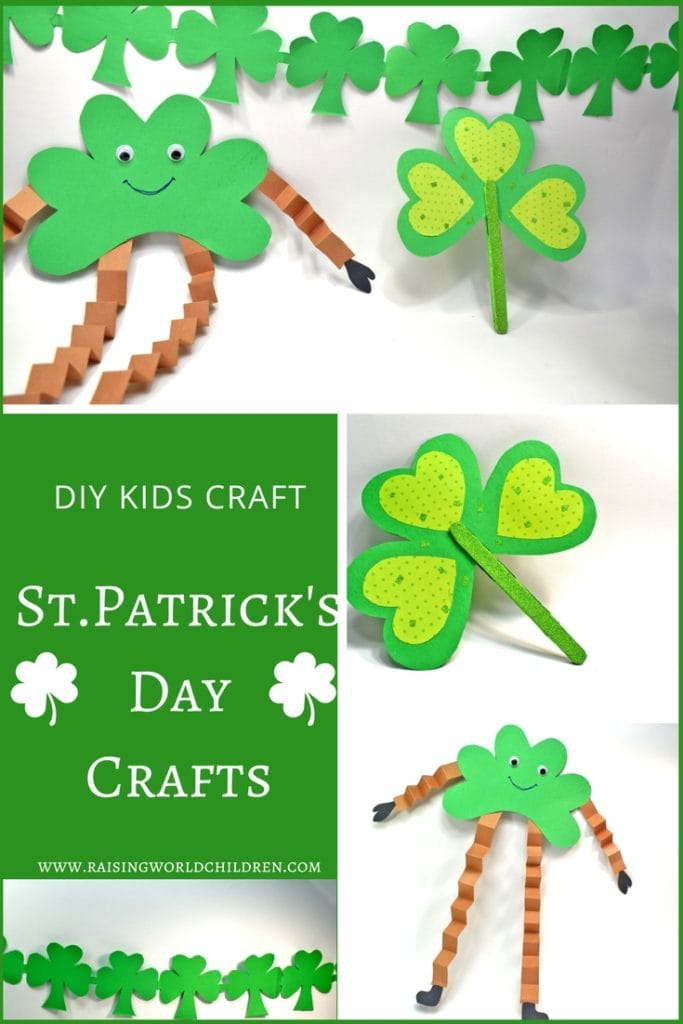 St.Patrick's Day Shamrock Crafts for kids | How to Make DIY Crafts for St. Patricks Day