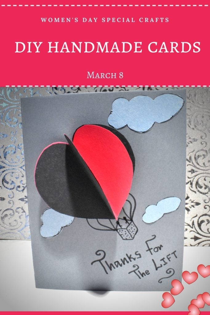 Women's day card | How to Make an Easy Women's Day Card Celebrating Women on International Women's Day