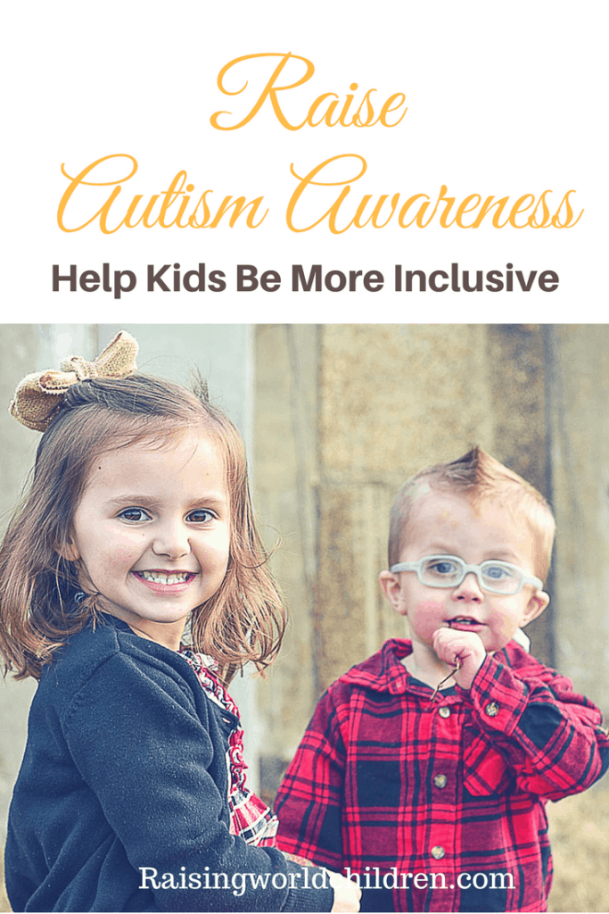 How do we teach kids to be more aware of specially abled children? Help them understand Autism better. Raise Autism Awareness