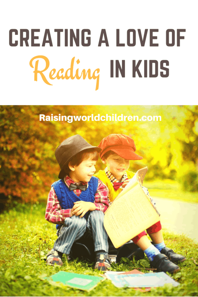 11 Ways to Create a Love of Reading in Kids | Books are a wonderful way into a heart. Worlds to drive to.