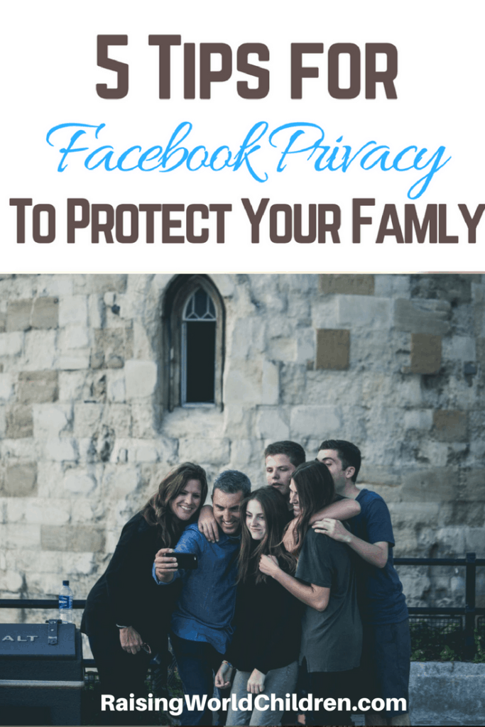Learn different ways to protect your family on Facebook.