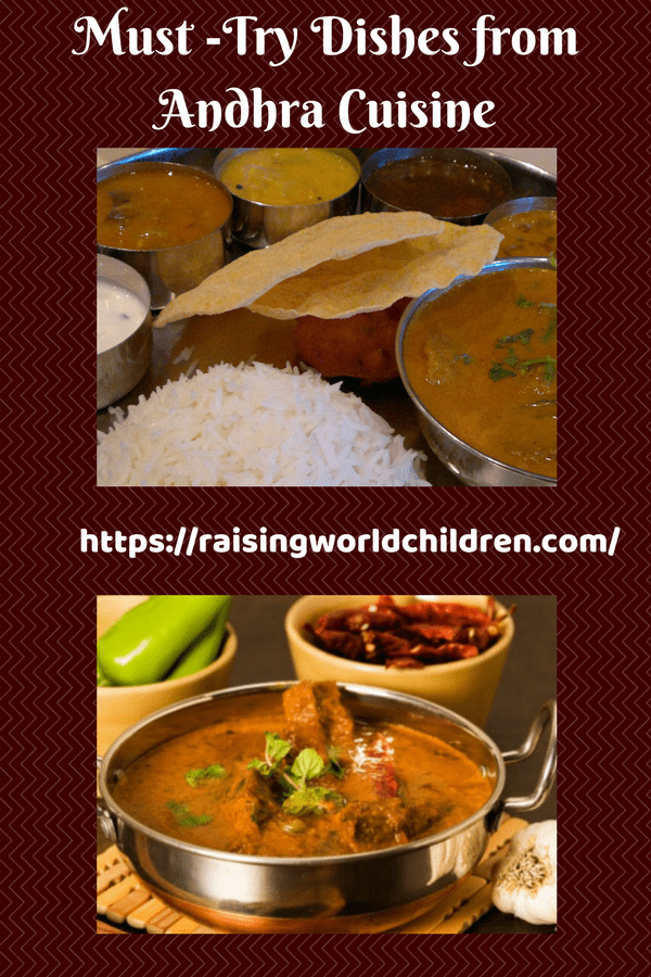 Andhra Cuisine, Andhra Dishes
