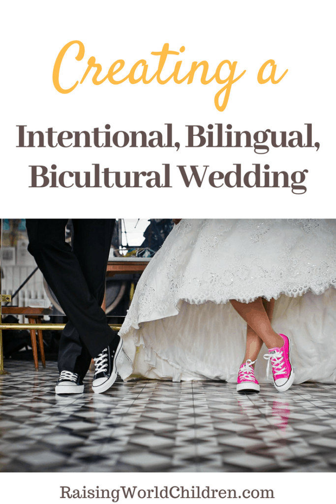 How does one go about creating the perfectly planned intentional, bilingual, bicultural wedding