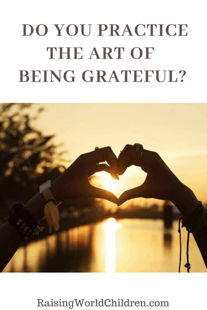 Do you practice the art of being grateful ? #gratitude #thankful