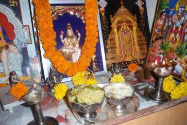 Goddess Mahalakshmi Pooja
