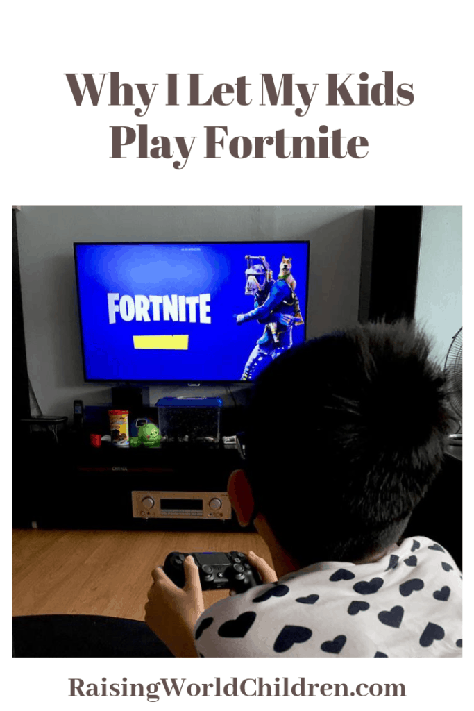 Why I Let My Kids Play Fortnite | Parenting | Fortnite