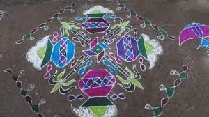 Sankranthi Rangoli - Muggulu