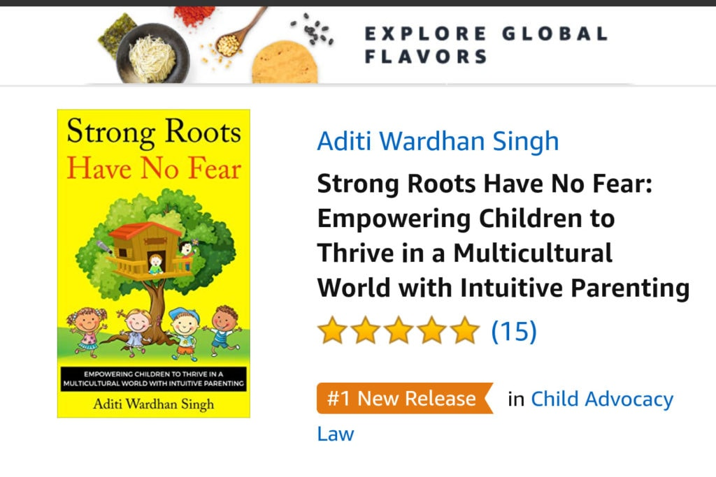 International Best Seller - Strong Roots Have No Fear