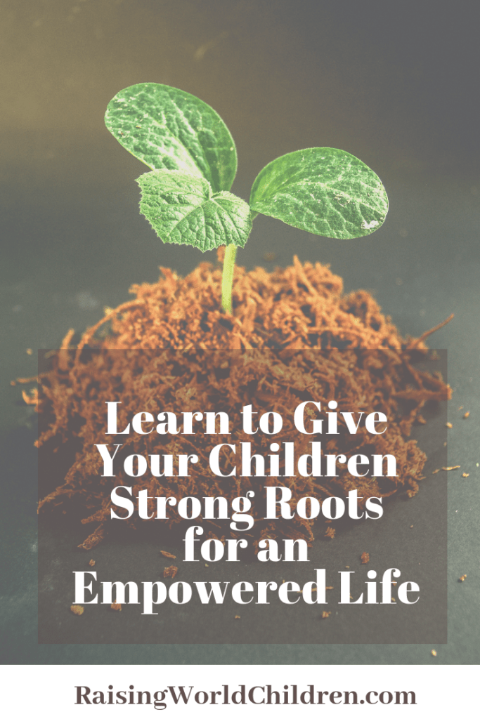 strong roots have no fear