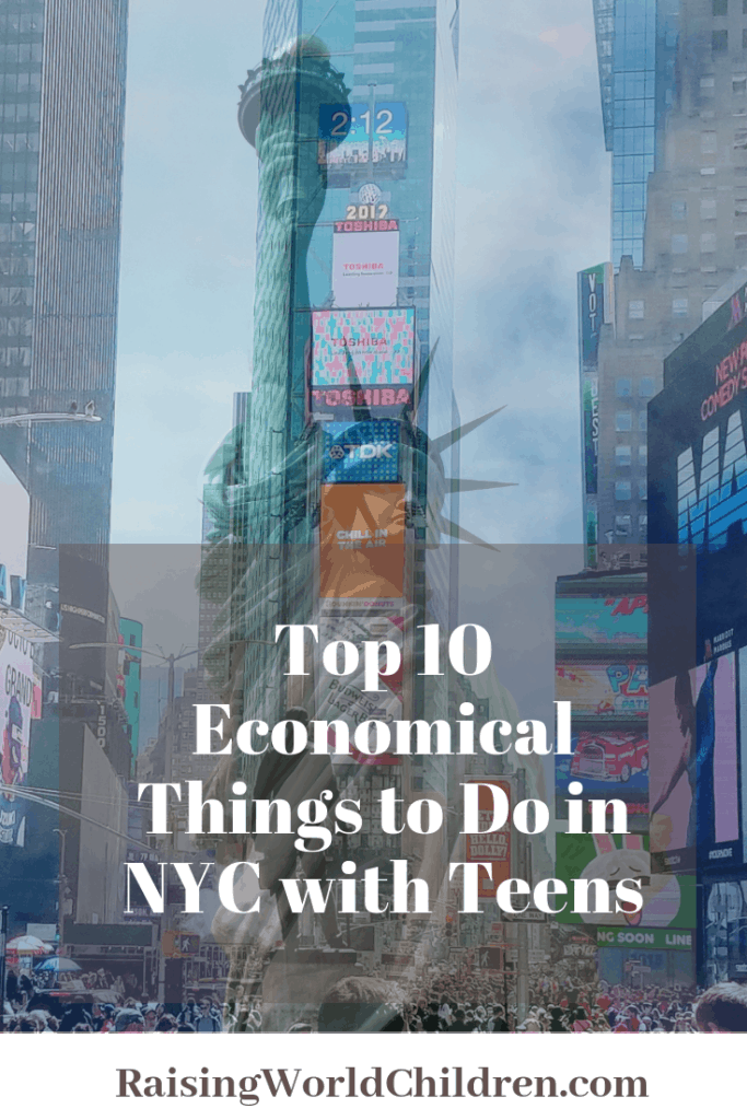 Economical Things to Do with Teens in NYC