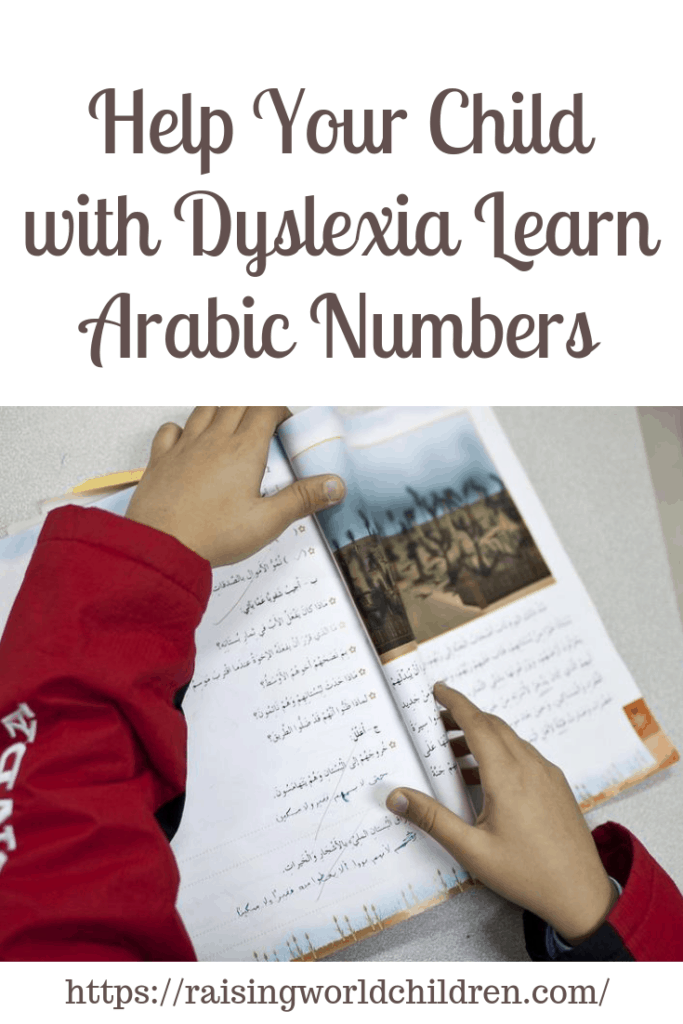 Help Your Child with Dyslexia Learn Arabic Numbers