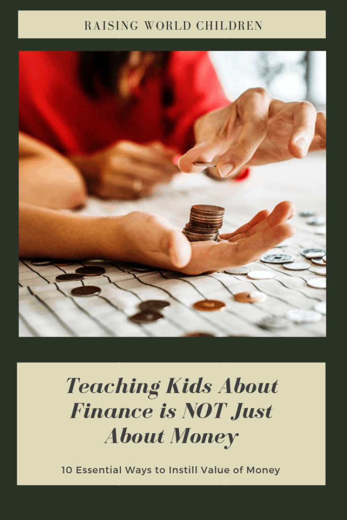 Teaching Kids About Finance is Not just about Money