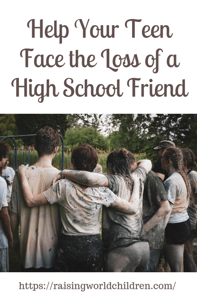 When Your Teen Faces the Loss of a High School Friend