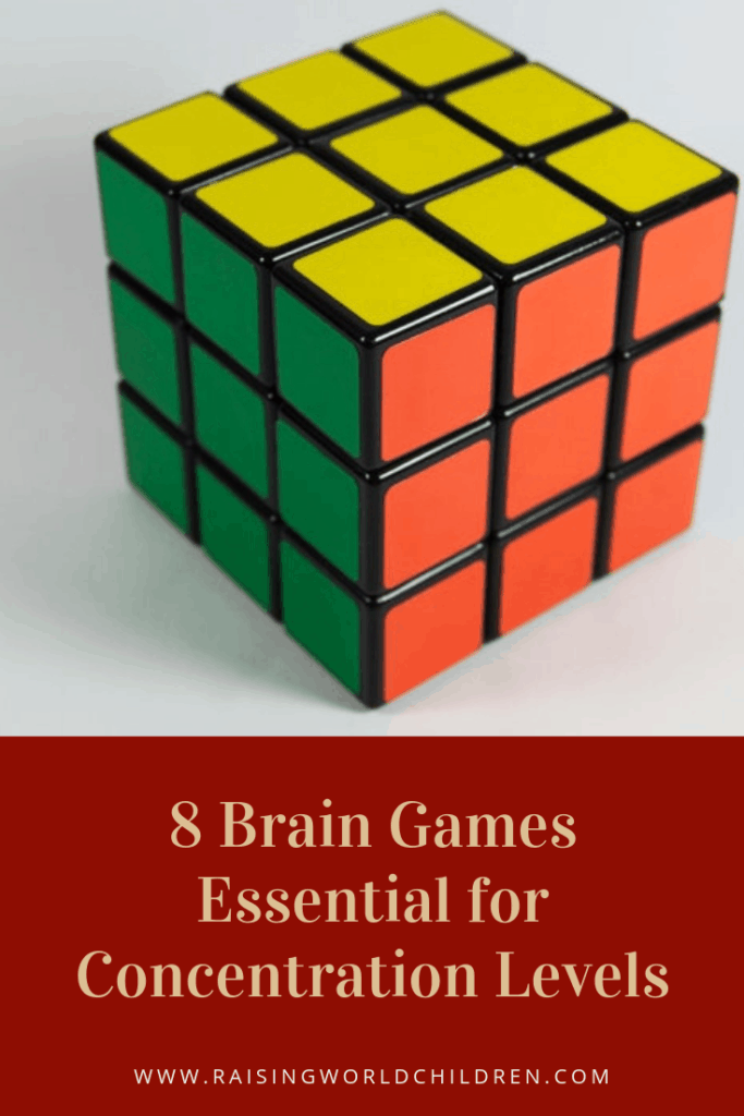 8 Brain Games for Kids Essential for Concentration Levels