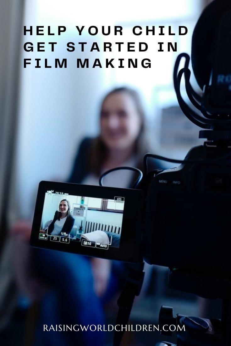 teaching kids film making