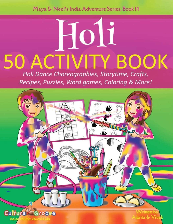 Holi Activity Book Ajanta Chakraborty