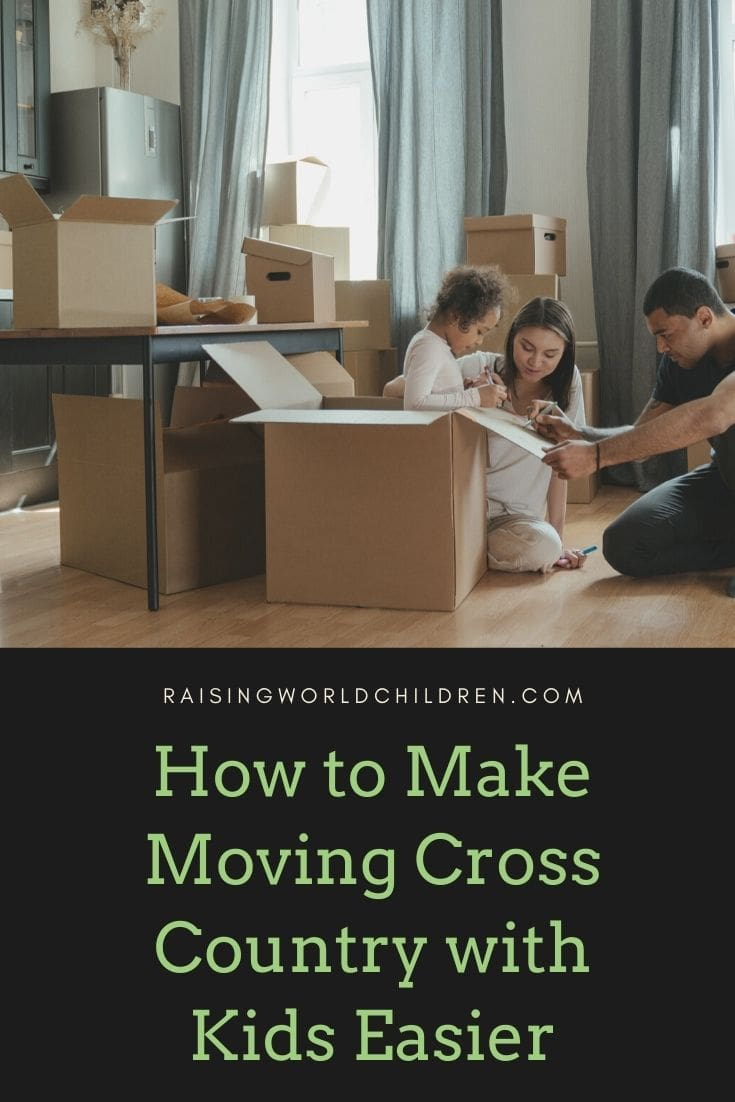 How to Make Moving Cross Country with Kids Easier